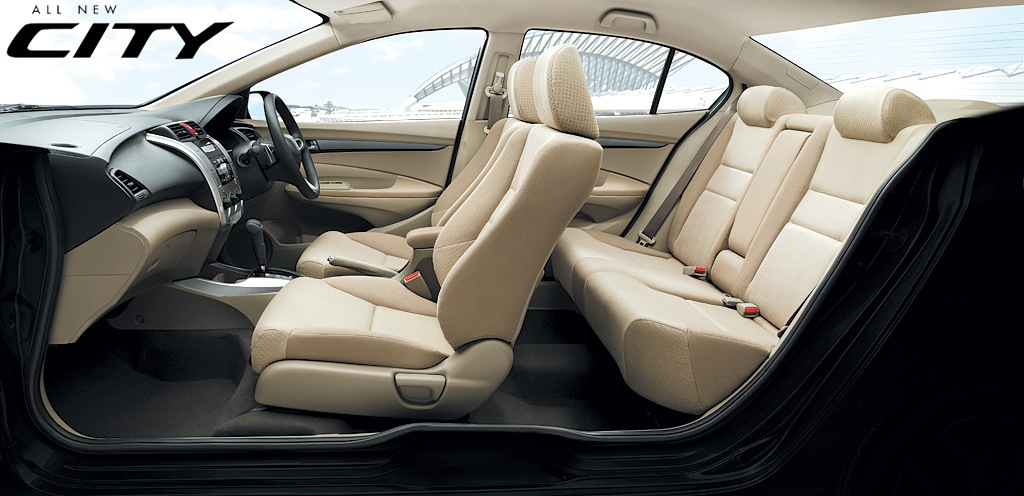 The interiors of the new Honda City 2008 defines luxury.